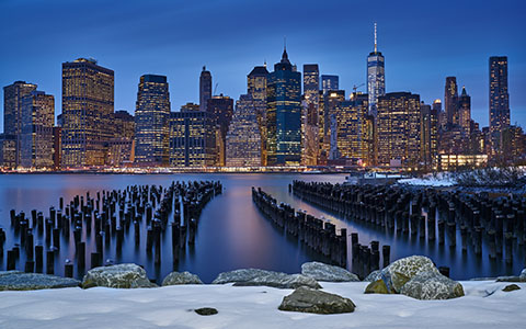 High-resolution desktop wallpaper Manhattan View by dionpa