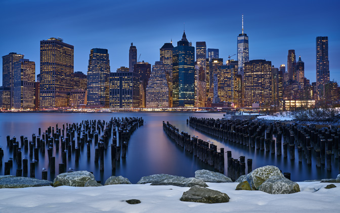 High-resolution desktop wallpaper Manhattan View by dionpa