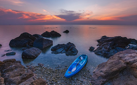 High-resolution desktop wallpaper Koh Phangan Sunset by andrewsparrow