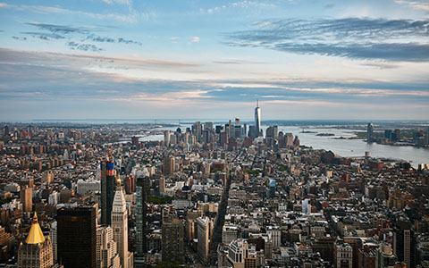 High-resolution desktop wallpaper Big Apple at Twilight by Oliver Buettner // Ascalo Photography