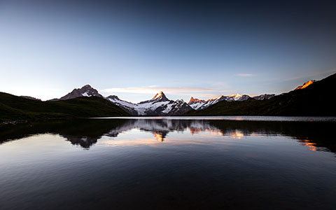 High-resolution desktop wallpaper Bachalpsee by Gerard87