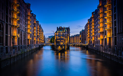 High-resolution desktop wallpaper Hafen City Hamburg by ClaudioTesta