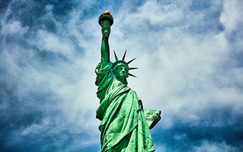 High-resolution desktop wallpaper Miss Liberty II by Oliver Buettner // Ascalo Photography