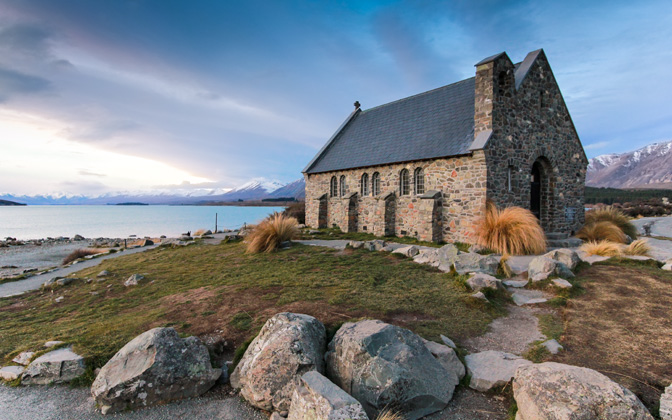 High-resolution desktop wallpaper Church of the Good Shepherd by Kynan Dwyer