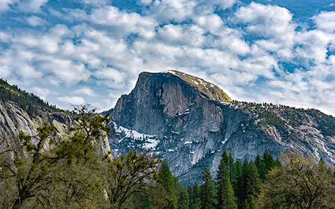 High-resolution desktop wallpaper Tis-sa-ack (Half Dome) by jaziCo