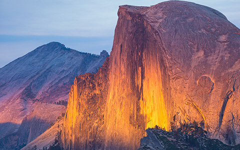 High-resolution desktop wallpaper Yosemite on Fire by GavinAsh