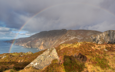 High-resolution desktop wallpaper Slieve League Ireland by SkyHigh
