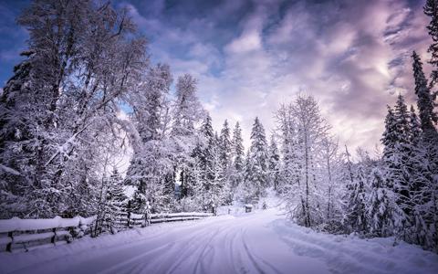 Winter Getaway wallpaper