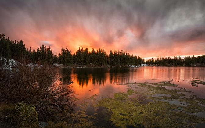 High-resolution desktop wallpaper Colorado Ablaze by Josh220
