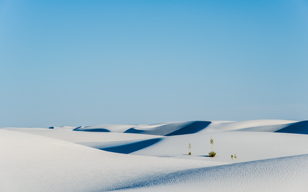 High-resolution desktop wallpaper White Sands National Monument by paul.charles.k