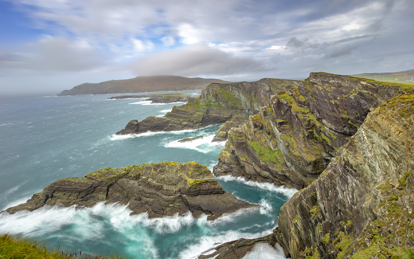 High-resolution desktop wallpaper Cliffs of Kerry by Jeffery Hayes