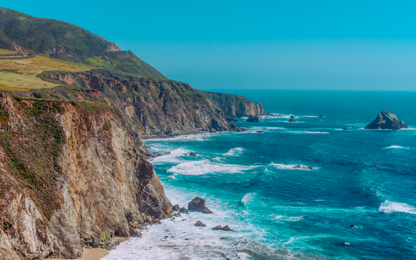 High-resolution desktop wallpaper Big Sur by Morgan Adkins