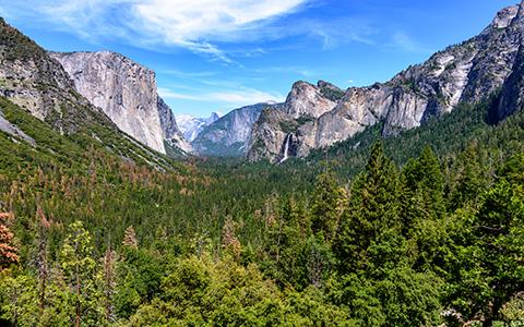 High-resolution desktop wallpaper Yosemite Valley - Tunnel View by cbrooks5678
