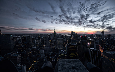 High-resolution desktop wallpaper The City That Never Sleeps by JohnDoe