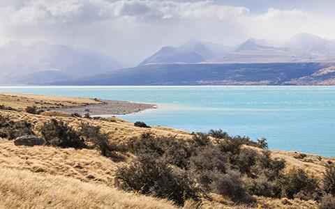 High-resolution desktop wallpaper Lake Pukaki by TheWanderingSoul