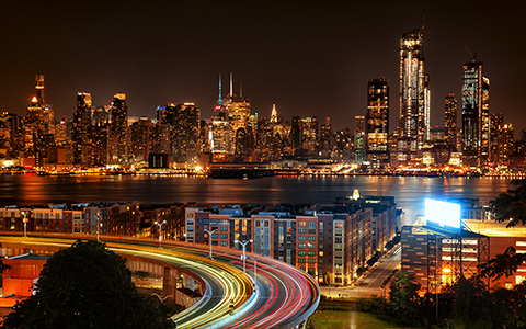 High-resolution desktop wallpaper View of NYC from NJ by JohnDoe