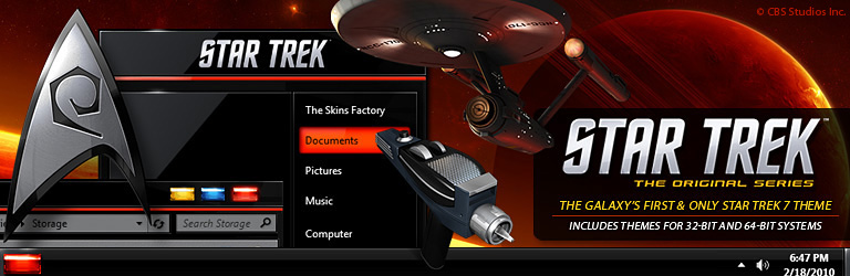 The Skins Factory & CBS Studios - Star Trek: The Original Series