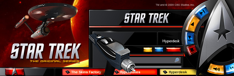 The Skins Factory and CBS Studios - Star Trek: The Original Series