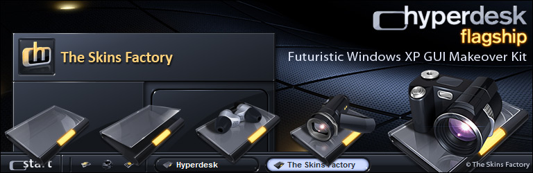 The Skins Factory - Hyperdesk Flagship