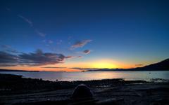 Second Beach Sunset wallpaper